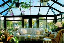 Sunrooms = Sunshine All the Time / From cathedral sunrooms, conservatories, curved eave sunrooms ans studios we enjoy the spectacular sights every unique season has to offer.