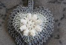 Haken h❤️rtjes -Crochet he❤️rts