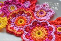 Haken bloemetjes -Crochet flowers
