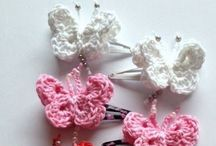 Haken vlindertjes - Crochet Butterflies