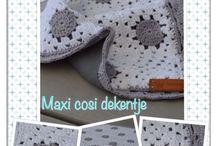 Haken/naaien  kraamcadeautjes -Crochet baby shower gift