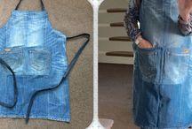Jeans mode -Jeans fashion denim spijkerstof