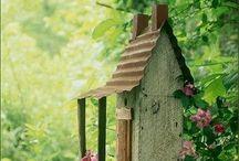 Vogelhuisjes Bird houses