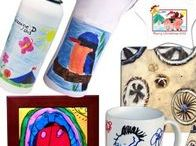 Art Fundraiser for Schools / Children's art reproduced onto a variety of products, suitable for Mother's Day, Father's Day or Christmas!