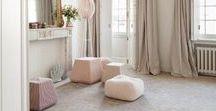 Deco | Salon / séjour / #salon #séjour #cheminée #nature #neutre #grège #lin #beige