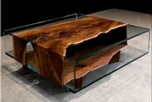 Fa - fagyökerek - bútorok