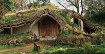 Hobbit, cordwood ....... házak