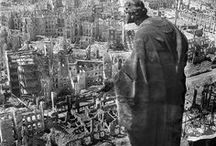 Dresden 45 / Allied war crime. The bombing of Dresden was a British/American aerial bombing attack on the city of Dresden.
