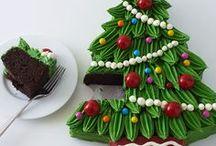 CHRISTMAS / Christmas and Holiday Cake and Treat Ideas!