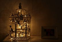 The Bird Cage / Love the different uses of old birdcages / by Patricia