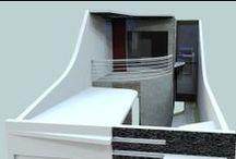 House One - F.V. | M.N.N. / Projeto de Residência Unifamiliar. Localização: Ferraz de Vasconcelos. Dimensões: 5mX33m.