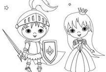 Prinsessat, prinssit, ritarit ja linnat