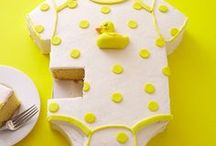 BABY SHOWER CAKES / Baby Shower Cake Ideas, Tutorials and Treat Ideas.