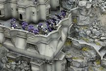 Warhammer / A small collection of minis from around Pinterest  that I find inspiring and cool.