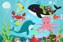 Meren eläimet