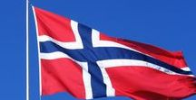 Norway-Norvégia  (N) / Államforma: alkotmányos monarchia. Fővárosa: Oslo. Pénznem: norvég korona  (NOK) = 100 őre.   Norvégia királya, a Norvég Egyház feje, a Norvég Hadsereg főparancsnoka:  V. Harald (1991.óta).Népesség: 5,233 millió (2016). Terület: 385 186 km2. Fjordokkal és szigetek ezreivel erősen tagolt partvonala több mint 25 000 km hosszú.