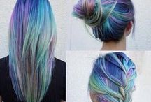 Hair <3 colors ,ombre,sombre...