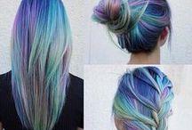 Hair <3 colors ,ombre,sombre...