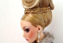 Hair style dolls