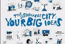 Sustainability info on cities - Info over duurzaamheid in de stad / by dakwaarde - roofvalue