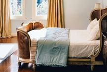 """{ room to sleep } / Everything luxe bedrooms.  Inspiring bedrooms.  Ideas to finish the last room in the house...our bedroom.  A place where I can """"sleep tight."""" As my mom would say each night."""