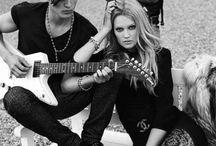 { rock & roll } / it's only rock & roll ~ but I like it.
