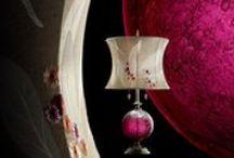 Kinzig Lamps .   Kinzig Design Lighting by Susan Kinzig and Caryn Kinzig / Table Lamps, Floor Lamps and Pendant Lamps. Eclectic Lighting.