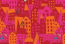 Roofs on art - Daken in de kunst / by dakwaarde - roofvalue