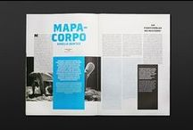 Editorial Design / Print layout examples.