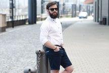 Pánské kalhoty a kraťasy / Trousers and bermudas