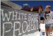 White roofs - Witte daken / by dakwaarde - roofvalue