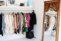 Small Closets / Closet Inspo for your tiny apartment.