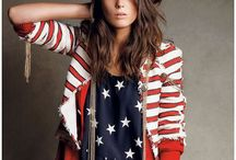 { you're a firecracker! } / 4th of July. Red, white & blue. Patriotic American flags. Holiday recipes & entertaining.