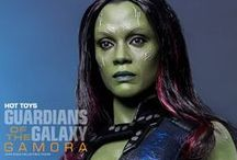 Gamora cosplay inspirations
