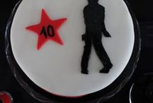 Michael Jackson birthday party! / Michael Jackson birthday party. Michael Jackson party ideas. Michael Jackson cake. Michael Jackson party décoration. Anniversaire thème Michael Jackson. Gâteau Michael Jackson.