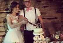 My wedding / My wedding!!! When Dane and I finally tied the knot - diy vintage bash!