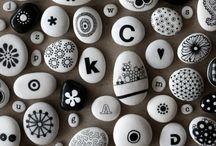 Steine rocks / angemalte Steine
