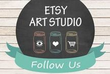 ETSY ART STUDIO / This is a Group Board for members of Etsy Art Studio. Team members can Pin and Promote their items here. Follow me on Pinterest first so I can send you an Invite: https://www.pinterest.com/chrystyna_17/ After that just let me know on an Etsy convo. Have fun!