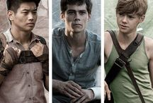 The maze runner / TMR, TST, TDC, TKO, TFC. Warning spoilers are on this page so please be warned, fav character is Newt.