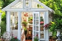 Shed Getaway / Ever need a space to get away? Maybe to write or to have an office close to home? These tiny havens have all the beauty and charm needed to nurture the creative muse!