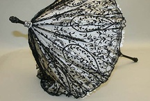 Historical fashion- handschoenen,parasols en div.