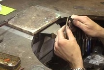 Jewellery - The Making Of / The design and manufacture of jewellery, from sketch to bench and the completed piece.