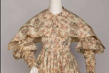 Historical fashion 1830-1840 Romantiek