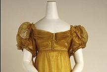 Historical fashion 1815-1830 Restauratie