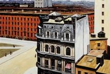 ARTchitecture / I'm a huge fan of architecture and I absolutely love when artists use it as a subject. Here's all the paintings, illustrations, and other renderings of all sorts of buildings, inside and out. / by Kelly Dean