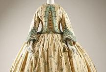 Historical fashion  1860-1870 Haute couture