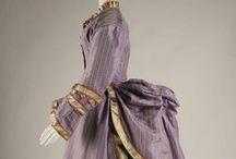 Historical fashion 1870-1878 Impressionisme