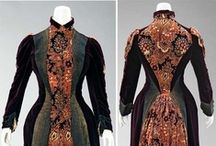 Historical fashion 1883-1890 Tweede tournure