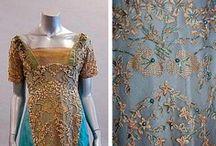 Historical fashion 1900-1909 Jugendstil