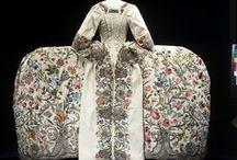Historical fashion 1730-1760 Rococo